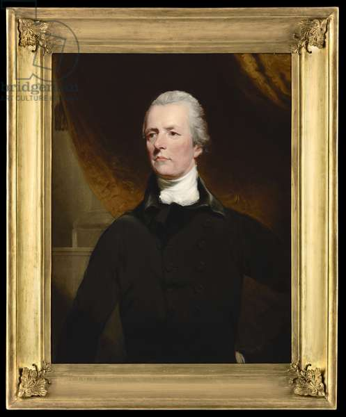 Portrait of William Pitt the Younger, 1805 (oil on canvas)