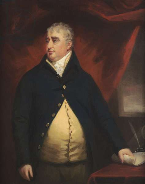 Portrait of Charles James Fox (oil on canvas)