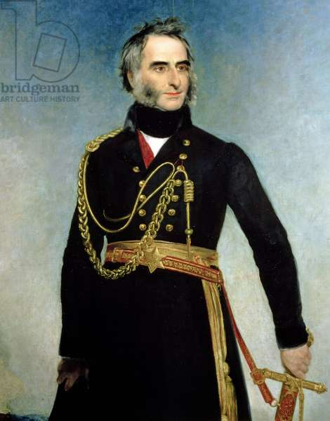 Portrait of Sir Charles James Napier (1782-1853) (oil on canvas)