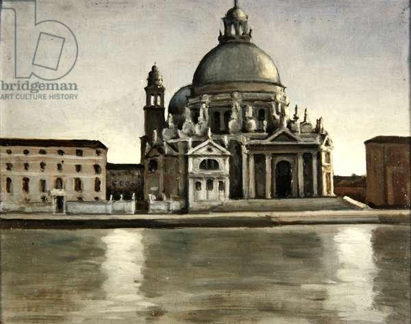 La Salute, Venice (oil on canvas)