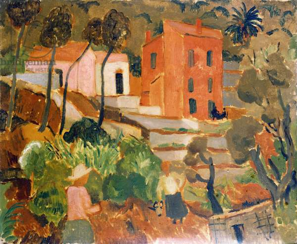 South of France (Vence) 1927 (oil on canvas)