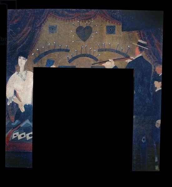 Wall panel from Restaurant Boulestin (mural)