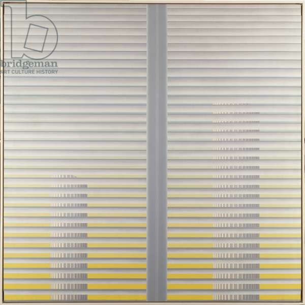 Louvered Shutters, c.1975 (oil on canvas)