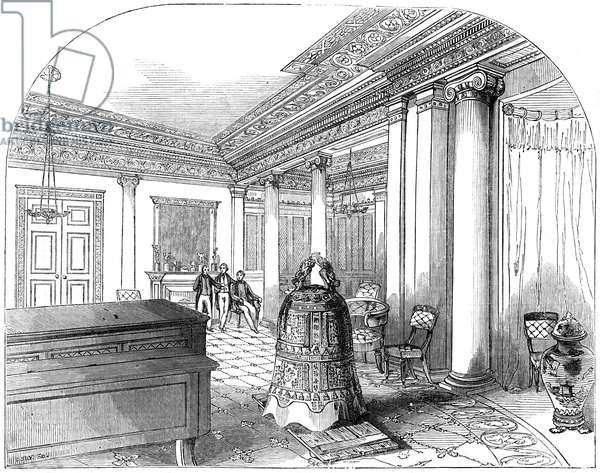 Great Chinese bell at Buckingham Palace, 1844