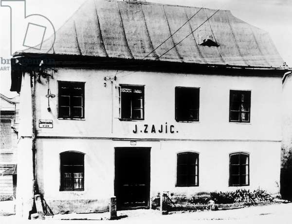 Freiberg, Freud's birthplace