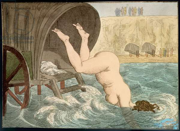 FAT LADY DIVING/1820