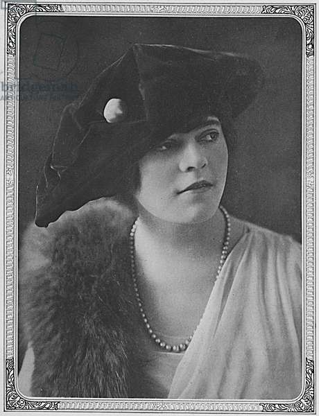 Lady Tichborne by Madame Yevonde, 1917