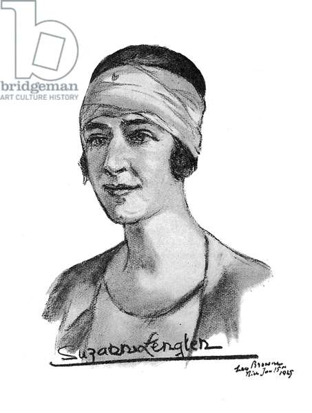 Suzanne Lenglen, tennis player
