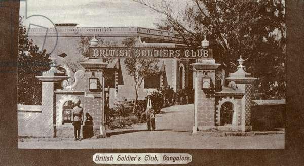 British Soldiers Club, Bangalore