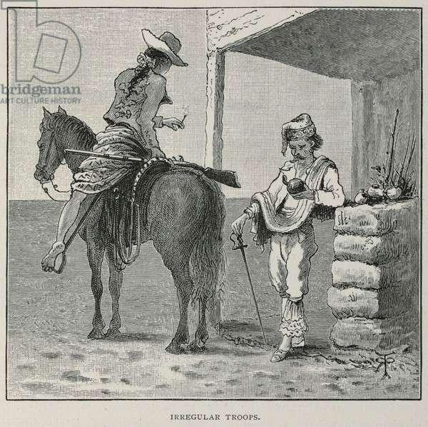 'Irregular troops' illustration