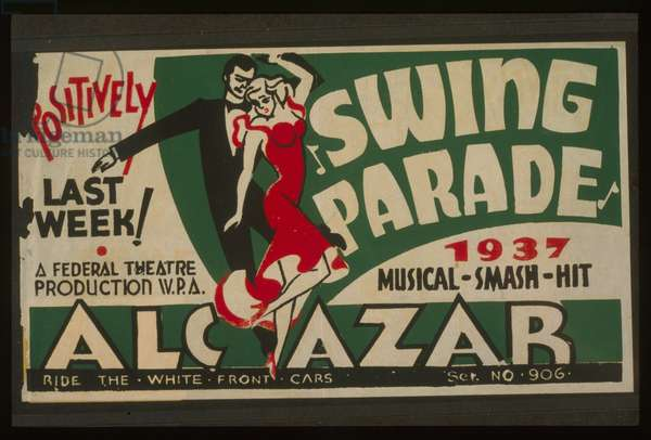 Swing parade 1937 musical smash hit positively last week! Sw