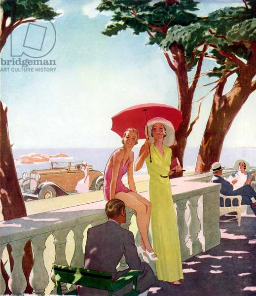 RIVIERA HOLIDAY 1933