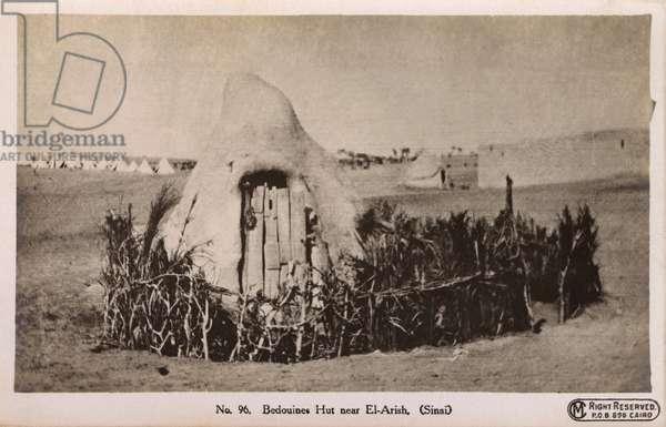 Bedouines Hut near El-Arish (Sinai, Israel)