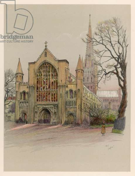 NORWICH CATHEDRAL 1924