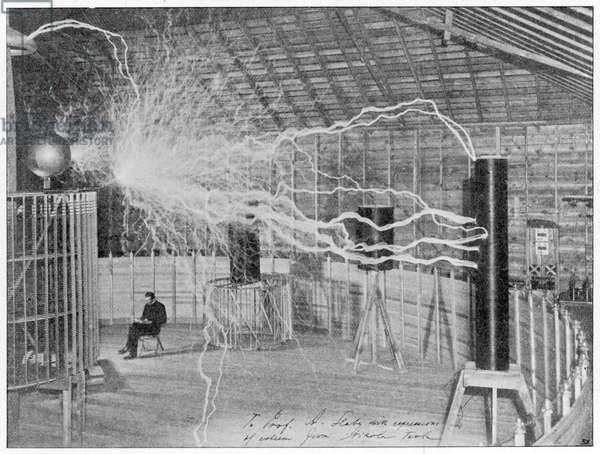 SCIENCE/TESLA 1899