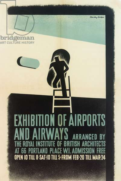 Exhibition of Airports and Airways Poster