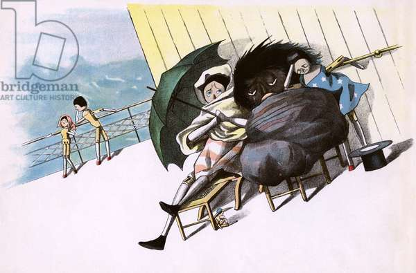 The Golliwogg's Bicycle Club - Seasickness on the ferry