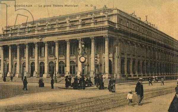 The Grand Municipal Theatre - Bordeaux, France