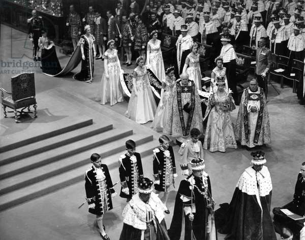 Coronation of Queen Elizabeth II, 1953