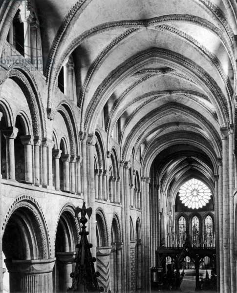 DURHAM CATHEDRAL 1950S