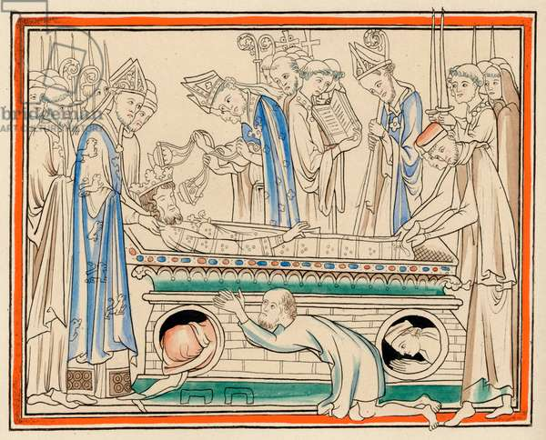 BURIAL OF KING EDWARD
