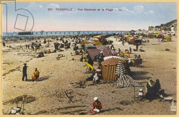 TROUVILLE/BEACH 1933