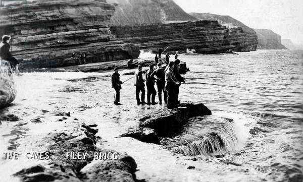 The Caves, Filey Brigg, North Yorkshire