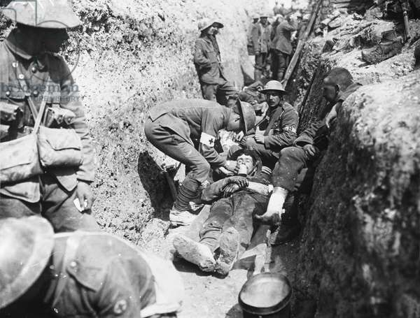 Somme wounded 1916