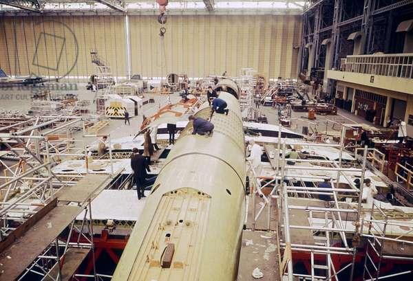 Construction du Concorde 001