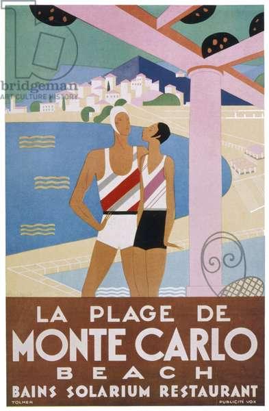 ADVERT/MONTE CARLO BEACH