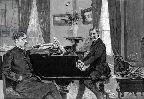 Giuseppe Verdi et Arrigo Boito