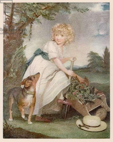 Boy in Muslin Frock 1789