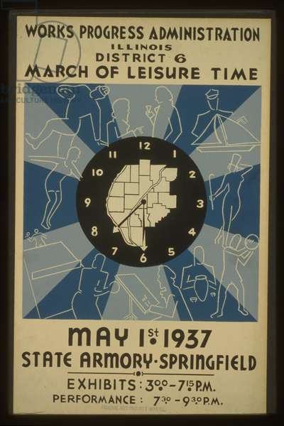 Works Progress Administration, Illinois, District 6 - March