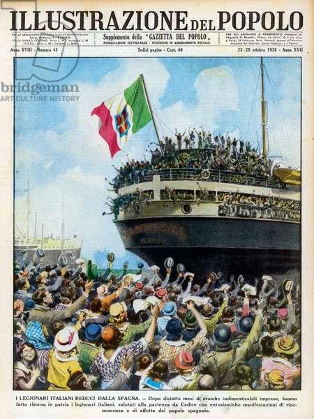 Spanish War: Italian support