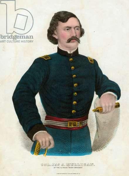 Colonel James A. Mulligan of the Illinois Irish Brigade
