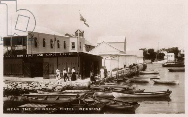 Young's Row-boat and Canoe Livery, Bermuda
