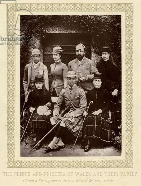 EDWARD VII/FAMILY C.1880