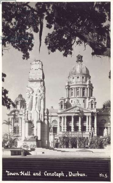 Durban, South Africa - Town Hall and Cenotaph