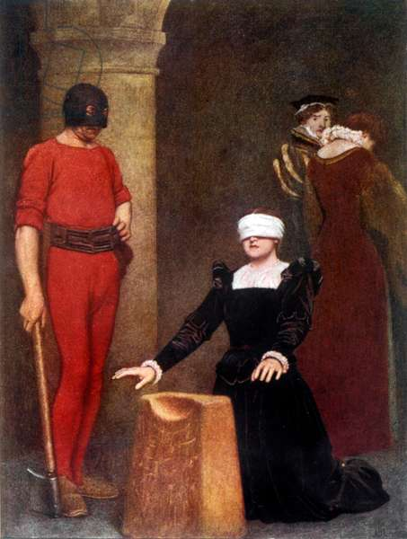 MARY Q OF S EXECUTED