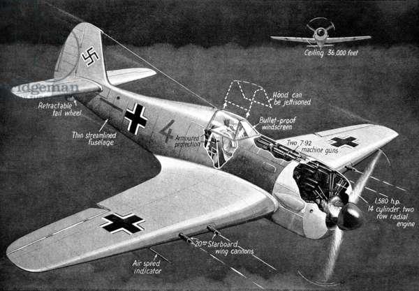 Avion Focke-Wulf 190 Wurger