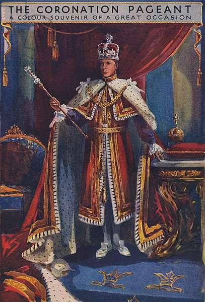 King Edward VIII at his Coronation