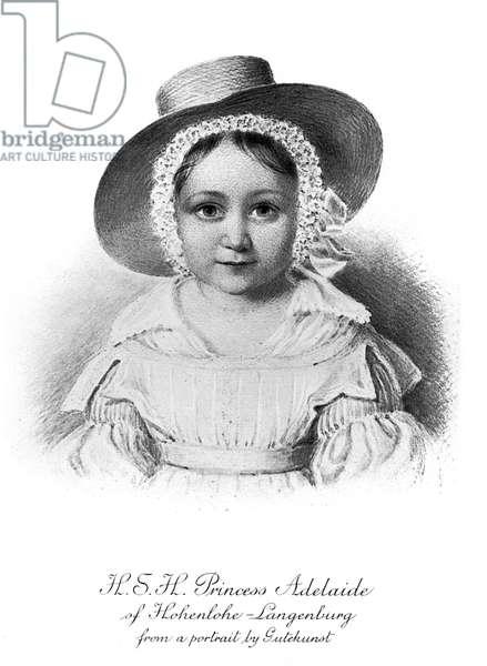 Princess Adelaide of Hohenlohe-Langenburg