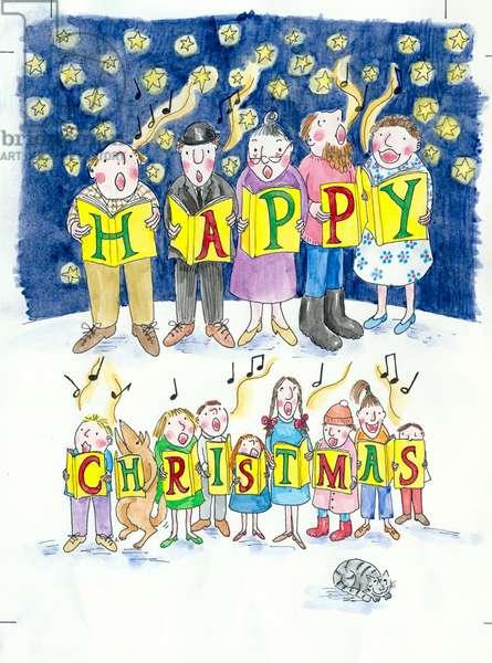 Happy Christmas Carol Singers
