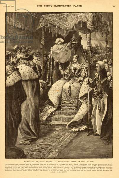 Coronation of Queen Victoria