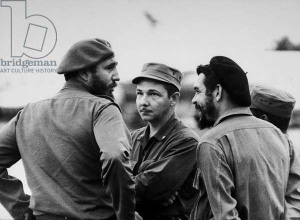 Fidel Castro, Raul Castro, Che Guevara