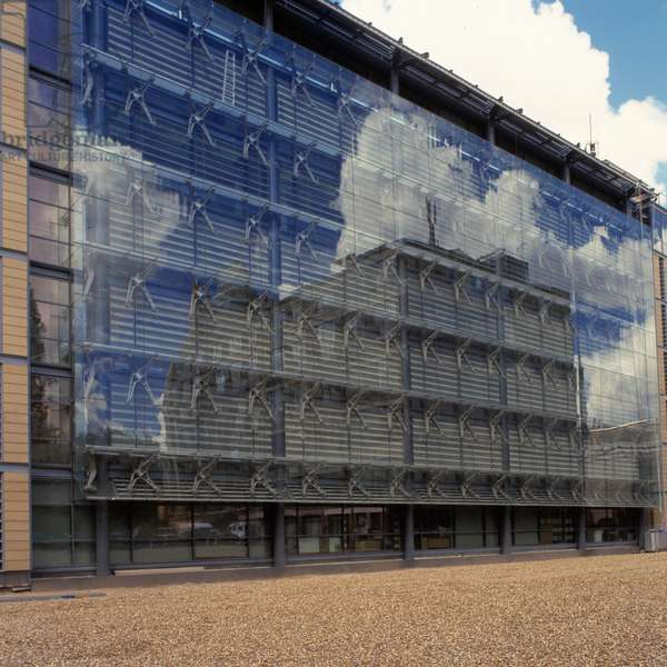 Exterior of the Darwin Centre