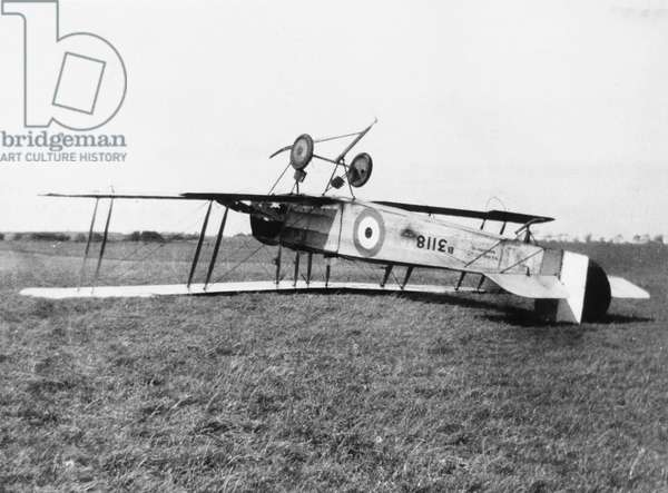 CRASHED AVRO 504A