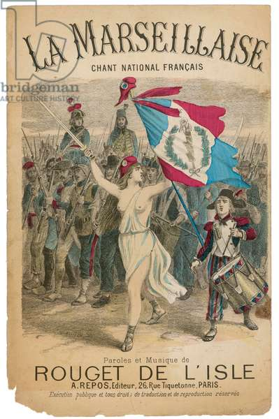 MARIANNE AND FRENCH ARMY