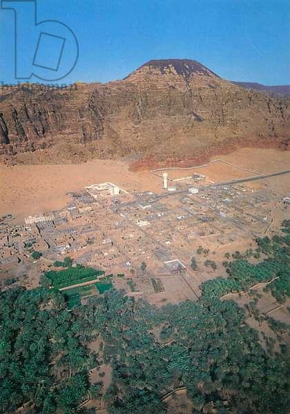 Saudi Arabia - Al-Ula - Aerial View