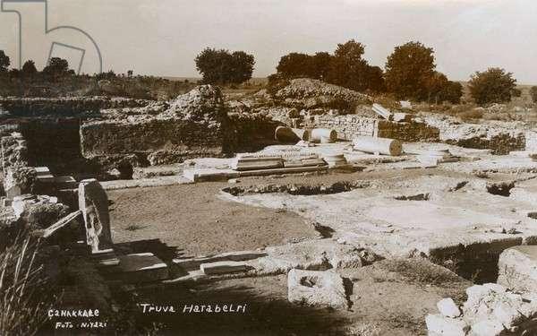 Ruins at Hisarlik / Troy